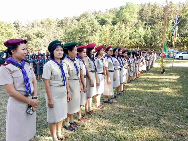 กิจกรรมเข้าค่ายลูกเสือ เนตรนารี ประจำปีการศึกษา  2560
